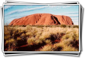 Ever changing shades of Uluru