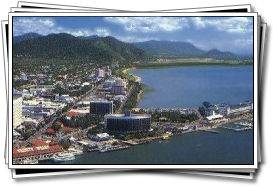 The tropical city of Cairns, gateway to the reef